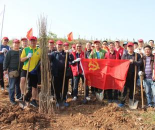 我植树 我快乐 ——蚌埠铁中义务植树活动