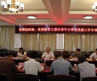 全省中小学校党建工作专项督查工作在蚌埠铁路中学开展