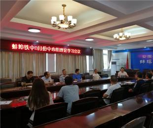 铁中党委理论学习中心组深入学习十九大精神